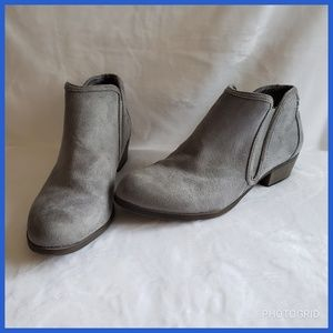 Maurices Gray Booties